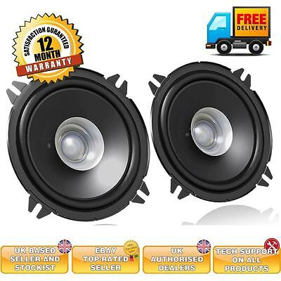 "JVC CS-J510X 5.25"" 13cm Dual Cone 500 Watts Car Van Door Coaxial Speakers Pair"