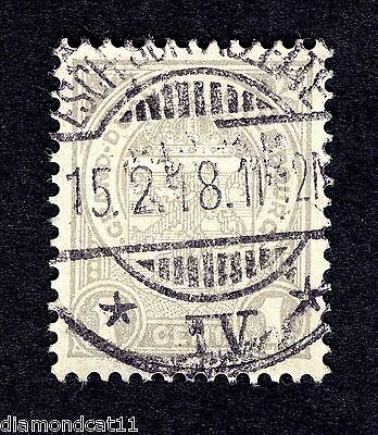 1906 Luxembourg 1c Grey SG 157 FINE USED R24171