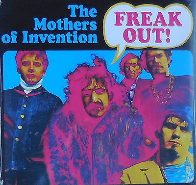 FRANK ZAPPA & MOTHERS OF INVENTION freak out Foldout Sleeve 2LP NEU OVP/Sealed