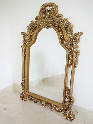 Antique Style Gilt Wall Mirror