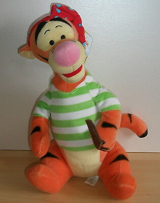 Disney 12.5-inch Tigger Pirate plush Soft Toy - New with tags- winnie the pooh