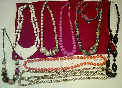 Lot Of Costume Necklaces. Good Dressing Up Lot
