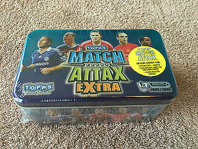Match Attax 08 09 Extra Factory Sealed Collectors Tin Limited Edition 2008 2009
