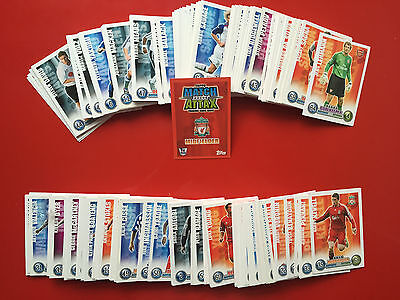 MATCH ATTAX 1st Edition 2007 2008 COMPLETE SET 320 FOOTBALL CARDS 07 08