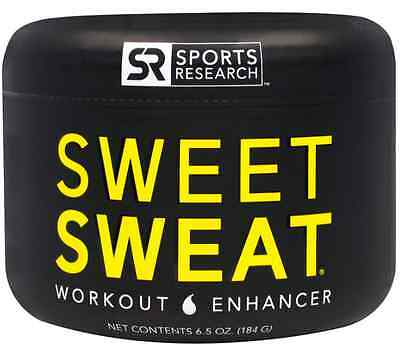 New Sports Research Sweet Sweat Workout Enhancer Circulation Healthy Body Care