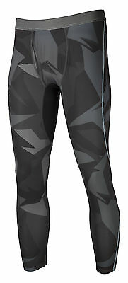 Klim Mens Black/Grey Aggressor Snowmobile -1.0 Cooling Base Layer Pants Snow