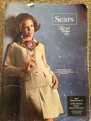 VINTAGE 1969 Fall/Winter SEARS Department Store CATALOG  Fashion/Tools +