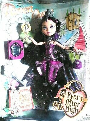EVER AFTER HIGH LEGACY DAY DOLL. The Raven Queen
