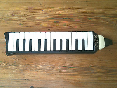 Hohner Melodica Piano a boouche 26 keys touches Germany  Noir vintage rare