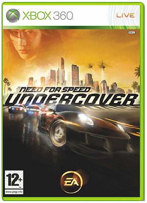 Xbox 360 - Need for Speed Undercover **New & Sealed** Official UK Stock