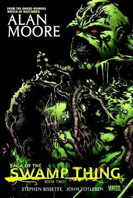 Saga of the Swamp Thing Book Two by Alan Moore Hardcover Book (English)
