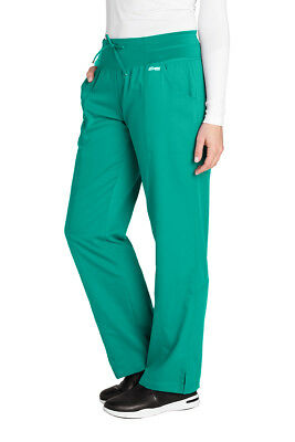 Grey's Anatomy 4276 Tropic Jade 4-Pocket Yoga Pant