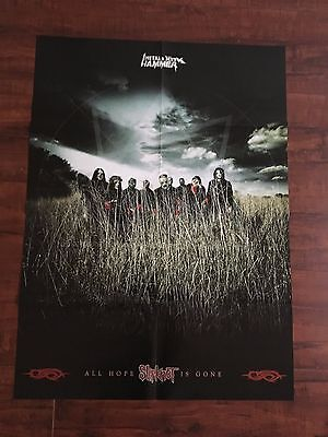 "Slipknot / Rammstein double sided poster 22"" x 30"""