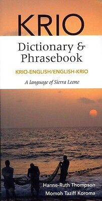 Krio-English/English-Krio Dictionary & Phrasebook by Hanne-Ruth Thompson Paperba