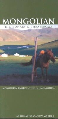 Mongolian-English/English-Mongolian Dictionary & Phrasebook by Aariimaa Baasanja
