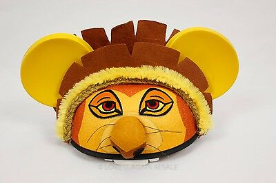 Disney Parks Exclusive Lion King Mickey Mouse Ears Hat Guard Disneyland Simba
