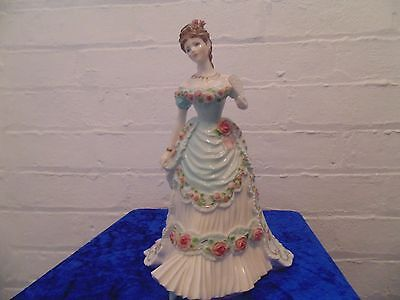 ROYAL WORCESTER FIGURINE OF ROYAL ANNIVERSARY The SPLENDOUR AT COURT