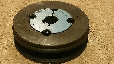 85mm V Pulley. 15mm 1210 taperlock. 1/2 inch V belt.  Lathe. Mill. Machine.