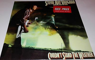 "Stevie Ray Vaughan ""couldn't Stand The Weather"" Lp Vinyl   Ex+/ex+"