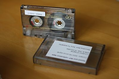Speed calibration test tape for cassette player or boombox - 3000 Hz