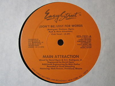 Electro Old-School Hip-Hop Rap-Main Attraction-Don't Be Lost For Words-Easy St.
