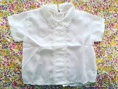 Vintage Girl's Toddler Baby Blouse 50s Fifities Retro Rockabilly