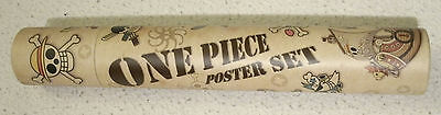 Poster Set One Piece in Rolle Tube Anime manga Ruffy Luffy Zoro onepiece