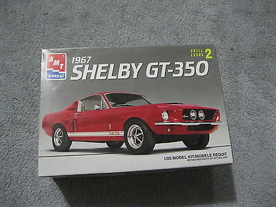 1995 Amt Ertl 1967 Shelby Gt-350 Model Car Kit # 6633 *very Good Con* 1/25 Scale