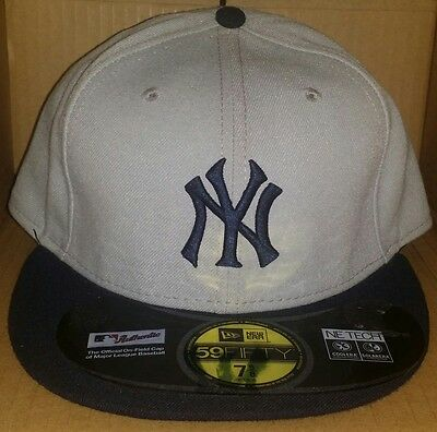 0646ca5fe1d NWT NEW ERA New York NY YANKEES 59FIFTY size fitted baseball cap hat mlb