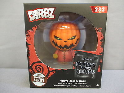 "Dorbz ""NIGHTMARE BEFORE CHRISMAS"" 233 Specialty Series POP Figure Funko *NEW*"
