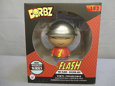 "Dorbz DC ""FLASH"" The Golden age 182 Specialty Series POP Figure Funko *NEW*"