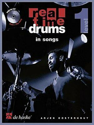 Real Time Drums, m. Audio-CD. Level.1 Arjen Oosterhout