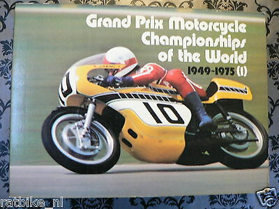 Grand Prix Motorcycle Championship Of The World 1949-75, All Info Races 1976