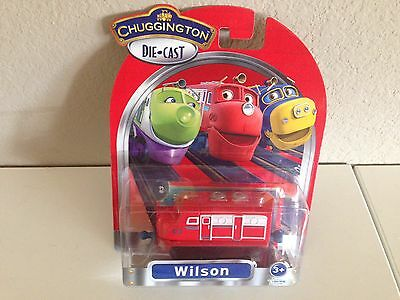 Chuggington Die-Cast WILSON -NEW in pkg.  Free Shipping from USA