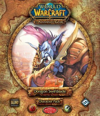 Fantasy Flight Games WC10 - World of Warcraft: Dongon Swiftblade Character Pack