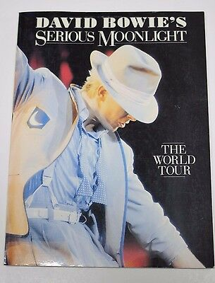 David Bowie's Serious Moonlight - The World Tour - Book 1984 1st Edition