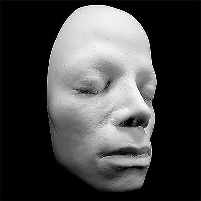 Michael Jackson Life Mask Life Cast in white resin HAUNTED STUDIOS ORIGINAL NOS