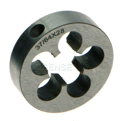 """New 37/64 - 28 Right Hand Thread Die .578""""-28 High Quality"""
