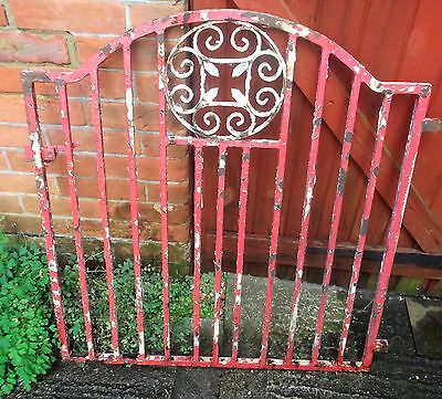 Vintage Heavy Duty Wrought Iron Gate.