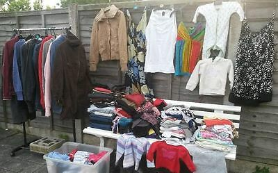50 Used Ladies Grade A Randomly Selected Clothing Carboot Market Job Lot Bundle