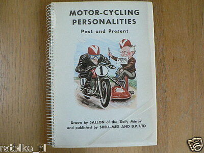 Motor-Cycling Personalities Past And Present,Sallon,She