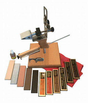 KME Precision Knife Sharpening System Deluxe Kit