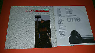 ANNE CLARK - Hopeless Cases 1987 LP Ten Rec. 208207-630 NEAR MINT OIS Lyrics
