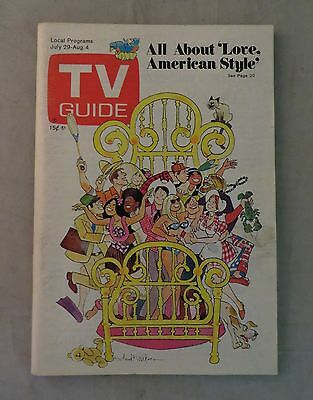 TV Guide All About Love American Style 1972