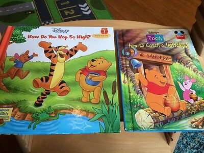 Disney WINNIE THE POOH Book Lot Of Illustrated Hardcover Reader Children Animals