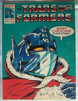 Transformers UK Comic Issue 41 December 1985