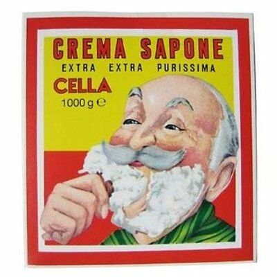 CELLA Shaving Soap Block 1kg | Crema da Barba