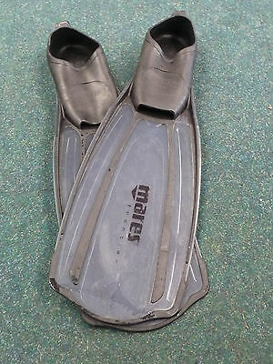 Mares Frontier fins size 5 to 6 (38/39) for snorkel dive diving flippers