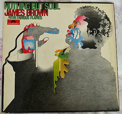 James Brown & The Famous Flames - Plays Nothing But Soul.rare Jazz Funk Lp 1968