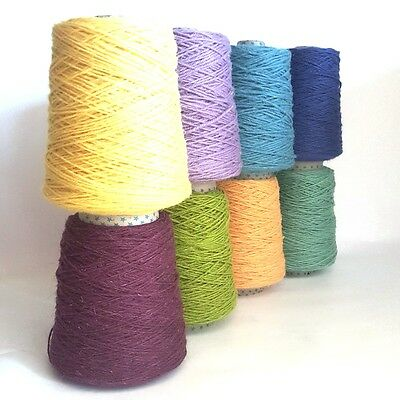 Wool & Nylon Axminster Rug Yarn 250g - Rug-Making, Weaving, Crochet *New Shades*